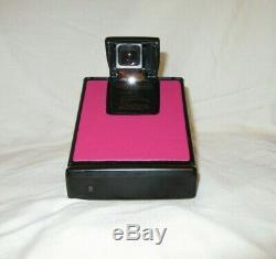 Polaroid SX70 Land Camera Model 2 Black Tested Working Retro