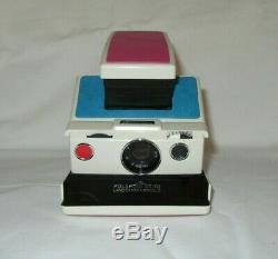 Polaroid SX70 Land Camera Model 2 White Ivory Tested Working Retro