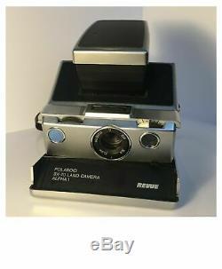 Polaroid SX70 Revue-Edition, Polatronic Blitzgerät, Tasche, tested+working