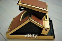 Polaroid SX-70 ALPHA I Gold Edition