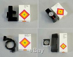 Polaroid SX-70 Accessory KIT Land Kamera Zubehör Vintage 70er Jahre NEU in OVP