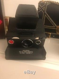 Polaroid SX-70 Alpha 1 Executive Land Camera mit OVP und Tasche