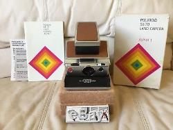 Polaroid SX-70 Alpha 1 Instant Camera-Film&Flash Tested-Beautiful-Ships Today