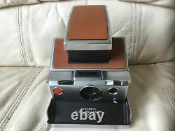 Polaroid SX-70 Alpha 1 Instant Camera-Film&Flash Tested-Perfect-Ships Same Day