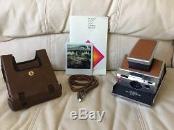Polaroid SX-70 Alpha 1 Instant Camera-Fully Tested&Working-Beautiful-Ships Today