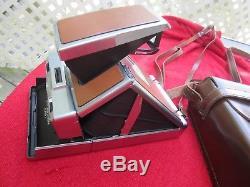 Polaroid SX-70 Alpha 1 Instant Land Camera Leather Case