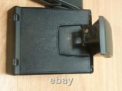 Polaroid SX-70 Alpha 1 Model 2 Tested Working Reskinned in Meters withCase & Strap