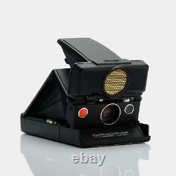 Polaroid SX-70 Black Sonar Autofocus Folding Instant Film Camera