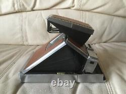Polaroid SX-70 Instant Camera-Film & Flash Tested-Great-withCase-Ships Same Day