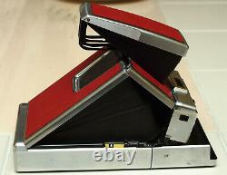 Polaroid SX-70 Instant Camera with Case Red Excellent Condition