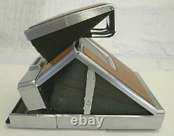 Polaroid SX-70 Instant Film Camera Original Tan with Box & Manuals NOT TESTED