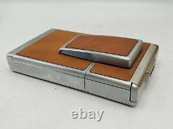 Polaroid SX-70 Instant Film Land Camera with Case Brown READ Untested