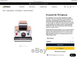 Polaroid SX-70 Instant Land Camera-Tested&Working-Mint Looking-Ships Same Day