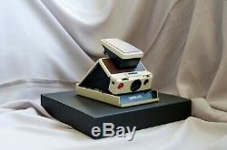 Polaroid SX-70 LAND CAMERA MODEL 2 (ivory white) FULLY WORKING