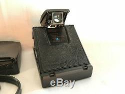 Polaroid SX-70 Land Camera ALPHA SE mit orig. Ledertasche