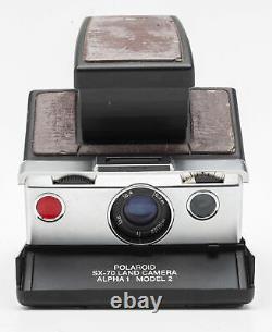 Polaroid SX-70 Land Camera Alpha 1 Model 2 Instant Camera Sofortbildkamera
