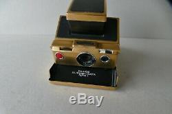 Polaroid SX 70 Land Camera Alpha 1 in GOLD! Sehr selten, guter Zustand