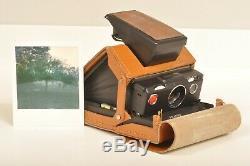 Polaroid SX 70 Land Camera Alpha AutoFocus Sofortbildkamera mit org. Tasche