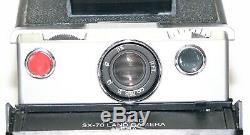 Polaroid SX-70 Land Camera Alpha Black