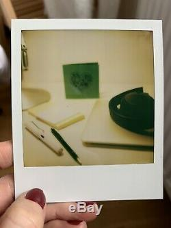 Polaroid SX-70 Land Camera, Black WORKING