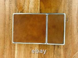 Polaroid SX-70 Land Camera Chrome with brown tan leather (collectible)
