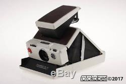 Polaroid SX-70 Land Camera Mod. 2 weiß / braun F63Z