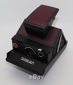 Polaroid SX-70 Land Camera Model 2 with Polaroid leather case VGC/tested