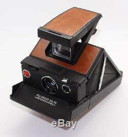 Polaroid SX-70 Land Camera Model 3 (Refurbished by MiNT) new skin Tested & VGC