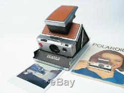 Polaroid SX-70 Land Camera SLR Sofortbild Kamera für Neu Originals film TESTED
