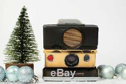 Polaroid SX 70 Land Camera Sofortbildkamera sonar Gold