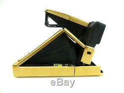 Polaroid SX 70 Land Camera Sonar One Step black gold Edition jm004