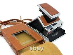 Polaroid SX-70 Land Camera & Tasche, außer Funktion // Händler