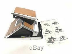 Polaroid SX-70 Land Camera mit Bedienungsanleitung TOP Sammler-Zustand