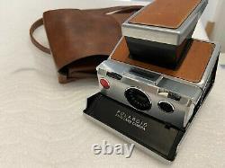 Polaroid SX-70 Land Camera mit orig. Ledertasche