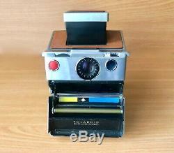 Polaroid SX-70 Landkamera in Brauner-Farbe