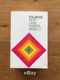 Polaroid SX-70 Model 2 Land Camera and original box