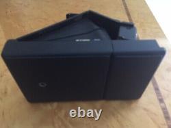 Polaroid SX-70 SE Blue Button Special Edition Black Leather Case & Strap