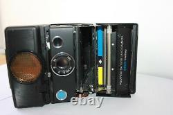 Polaroid SX-70 SE Land Camera Sonar One-Step Special Edition Blue Button