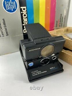 Polaroid SX-70 Time-Zero Special Edition Autofocus Model 2 camera with Org. Box