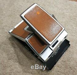 Polaroid SX-70 alpha 1 camera vintage TESTED & WORKING