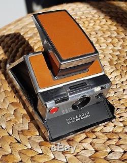 Polaroid SX-70 camera vintage TESTED & WORKING