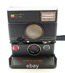 Polaroid Slr 680 Instant Camera Red Button Uk Dealer