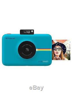 Polaroid Snap Touch Instant Print Digital Camera with LCD Display Blue