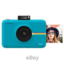 Polaroid Snap Touch Instant Print Digital Camera with LCD Display, Blue #POLSTBL