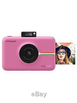 Polaroid Snap Touch Instant Print Digital Camera with LCD Display Blush Pink
