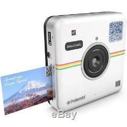Polaroid Socialmatic 14MP Wi-Fi Digital Instant Print & Share Camera White