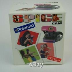 Polaroid Spice Girls Camera 600 Instant Film Spice Cam NIB NOS New Pics
