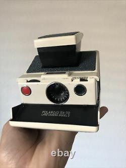 Polaroid Sx-70 Instant Film Camera Tested Works Great