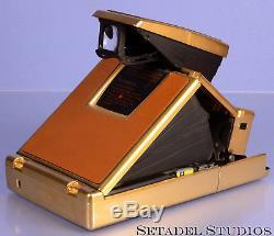 Polaroid Sx-70 Land Camera Alpha 1 Gold Anniversary Instant Film Camera Rare