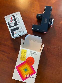 Polaroid Sx 70 Land Camera Alpha 1 Revue in perfect cond & rare accessories